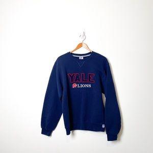 Yale Varsity Graphic Sports Retro Crewneck Sweater